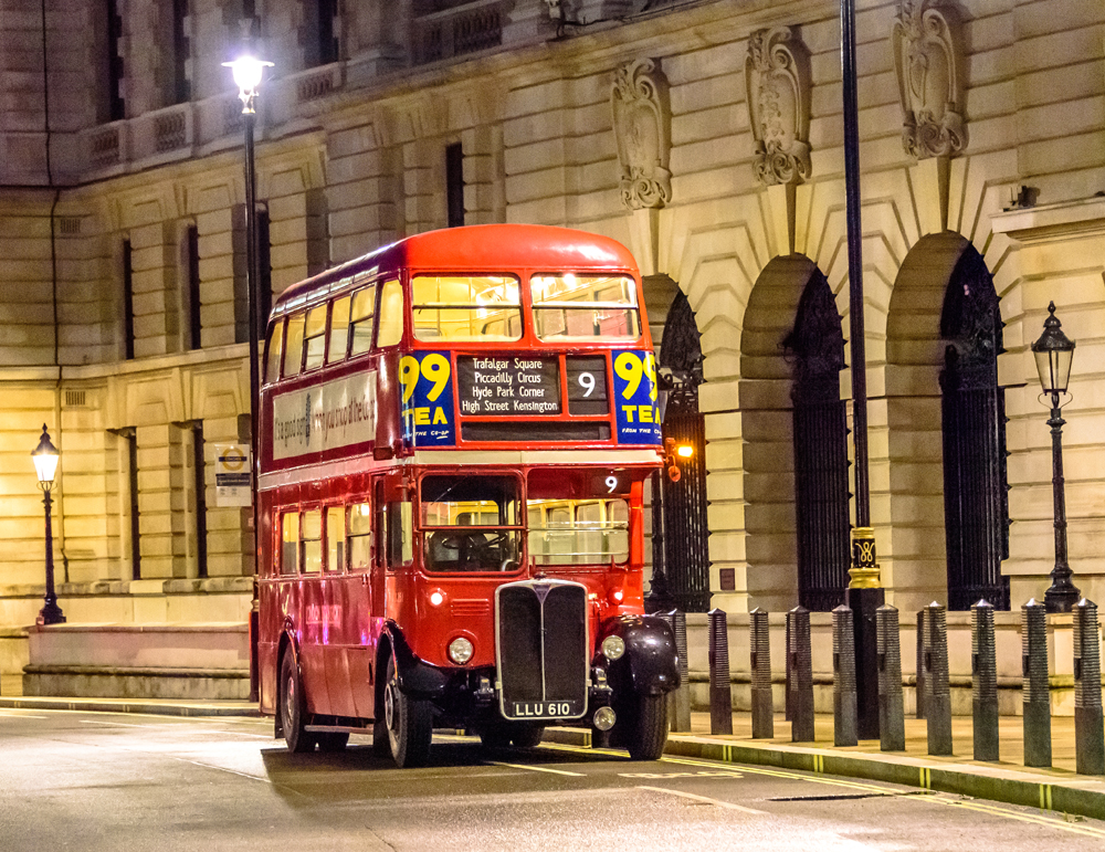 Vintage Buses Photography Evening